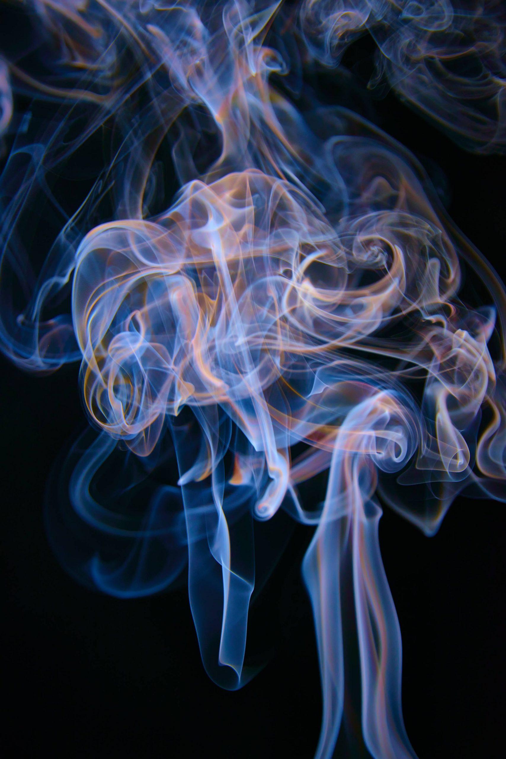Konst: Nytt verk av fotograf Hendrik Jan Jager: färgad rök @Gallery CommunicationinArt